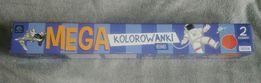 """Mega kolorowanki 100cm x 70cm, """"Kosmos"""" i """"Cukiernia""""."""