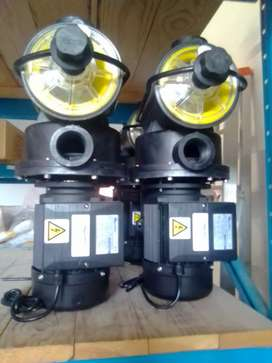 Swimming pool pumps and filters