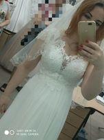 Срочно! Свадебное платье в греческом стиле, подойдет для беременной