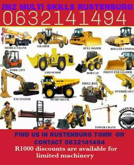 All courses are available in rustenburg