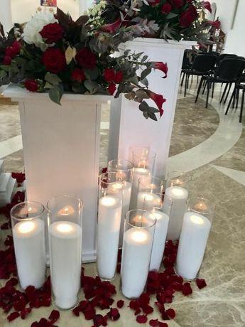 Аренда, прокат насыпных свечей Киев ДЕШЕВО! Свадьбу, презентацию Киев - изображение 1