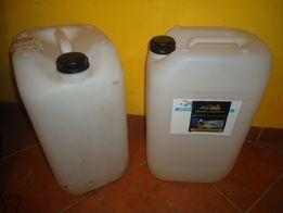Kanister przezroczysty pojemnik banka / na wodę ropę oleje