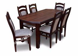 Zestaw PORTO Stół ŁUK + 6 Krzeseł! Bogata Oferta Krzeseł I Stołów!!!