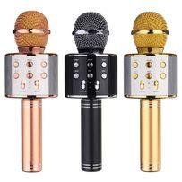 Беспроводной караоке-микрофон WS 858