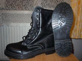 Берцы ботинки кожаные на меху .