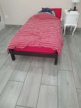 WOODEN BASE BED