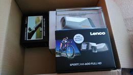 Kamera sportowa Lenco GPS Sportcam-600 + akcesoria ,na rower