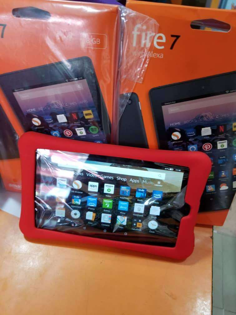 High Quality Amazon 7 Fire tablet + pouch 0