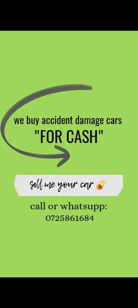 I buy accident damage cars for sale