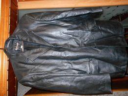 куртка демнисезонная кожаная (мужская)