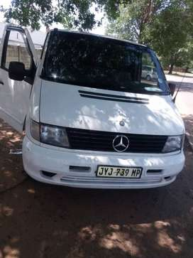 Am selling myVito 112 panelvan 2,2l turbo diesel.  .