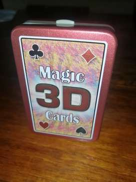 Magic 3D playing cards