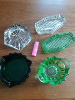 Wyprzedaż kolekcji - stare szkło , popielnice i inne