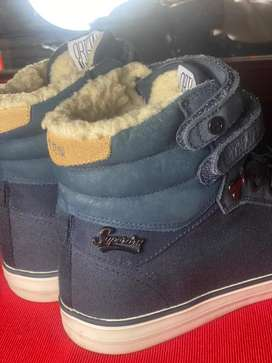 Superdry high top shoe