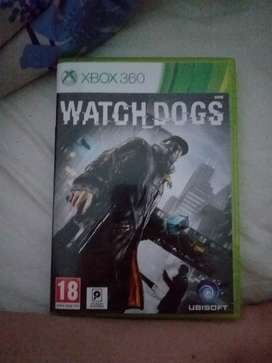 Xbox 360 watch dogs game