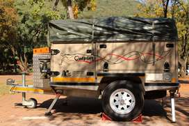 2015 Off Trax Outplay Off-road camp trailer