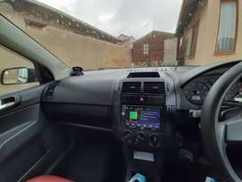 Second hand polo vivo hatch back with spare key,sound,mag and covered