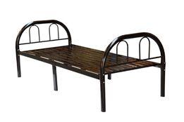Łóżko metalowe ze stelażem do 140kg z trzecią nogą