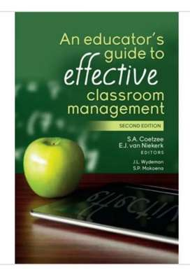 An educators guide to effective classroom management.