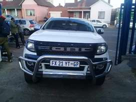 2015 Ford Ranger 3.2D with a double cab