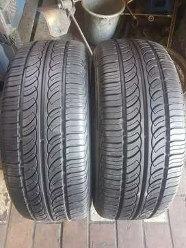 2x 215/55/16 tyres for sell