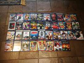 Playstation 2 (PS2) and 37 Games and Buzz Controllers