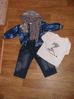 Курточка костюм (троечка) , на мальчика 1-2 года