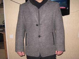 Мужской теплый пиджак-куртка