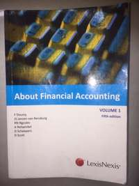 Image of about financial accounting volume 1 fifth edition Lexis Nexis F dousy