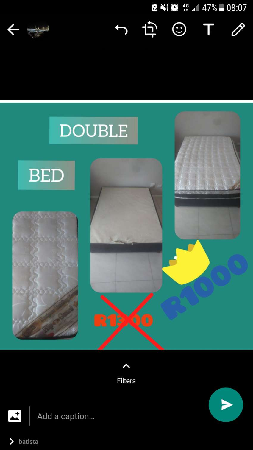 Double Bed 0