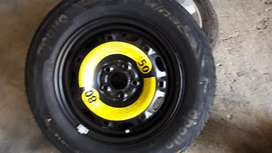 We are selling 14 inch brand new polo spare wheel