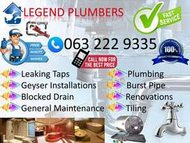 Pretoria Plumbers No Call Out Fees Legend plumbers all Plumbing jobs