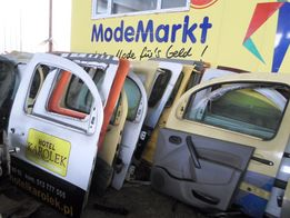 Двери Дверь передняя сдвижная задка Renault Kangoo 2008-17 кенго ситан