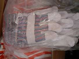 Candy stripe gloves