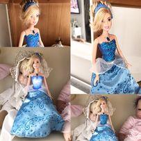 Śliczna lalka Barbie MAttel Kopciuszek z USA swieci !