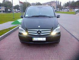 Аренда минивена Mercedes -VIANO с водителем. Поездки. Свадьбы. Встречи