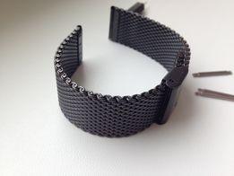 черный браслет ремешок для часов Gear на Moto 360, iWatch,Смарт,Orient