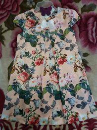 Платье нарядное р. 134