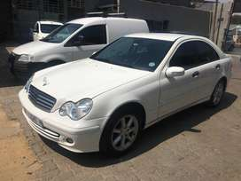 2006 Mercedes Benz C180 Kompressor Auto 115000 km For R85000