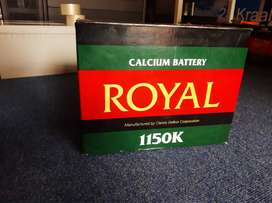 Brand New Royal Batteries For Sale