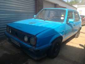 VW Citi Golf Mk1 start and go