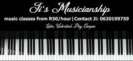 Music Lessons From R50 Per Hour