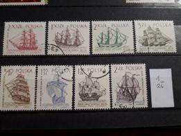 41. znaczki polskie kasowane - różna tematyka