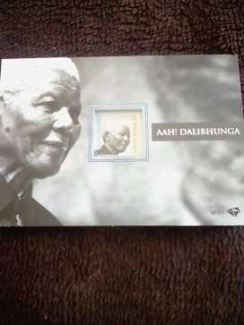2 Mandela's stamp with a book