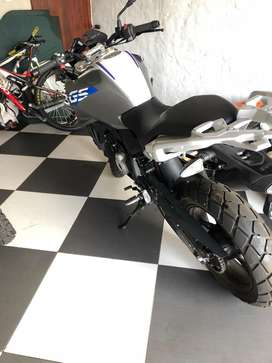 Bmw 310 gs accident damage
