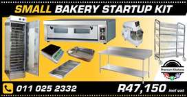 Start Your own Bakery Business! Bakery Startup KITS