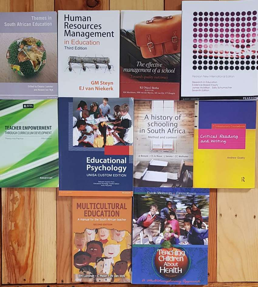 BEd and HBed Textbooks 0