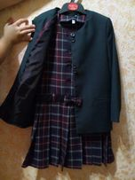 Школьная форма.р-30 Пиджак+сарафан