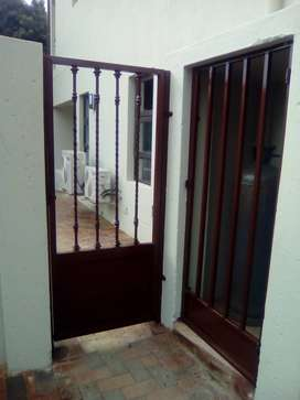 Fencing and welding at Salem Tech ( Pty ) Ltd