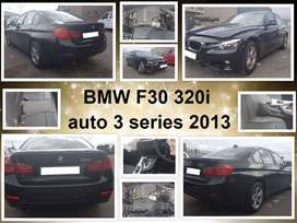 BMW F30 320i auto 3 series 2013 spares for sale.